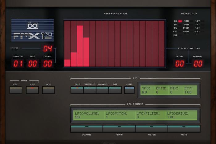 FMX1-XL Mod GUI