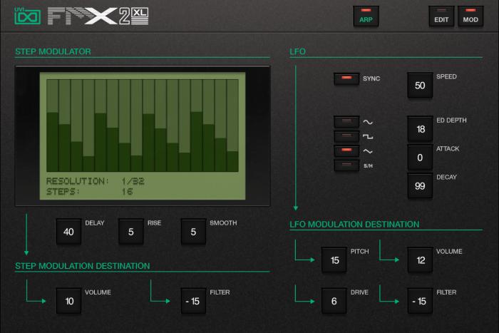 FMX2-XL Mod GUI