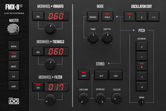 FMX-8op Edit GUI