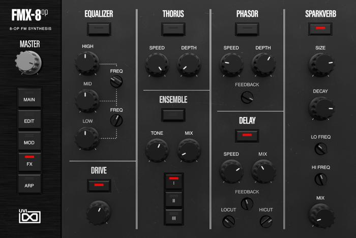 FMX-8op FX GUI