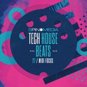 5Pin Media MIDI Focus Tech House Beats
