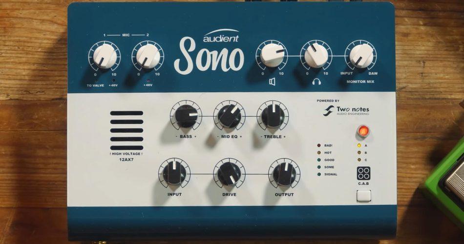 Audient Sono audio interface