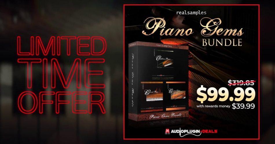 Audio Plugin Deals Realsamples Piano Gems Bundle