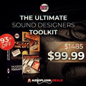 Audio Plugin Deals Soundideas Sound Designers Toolkit Bundle