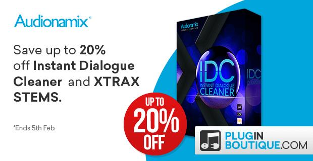 Audionamix IDC XTRAX PluginBoutique