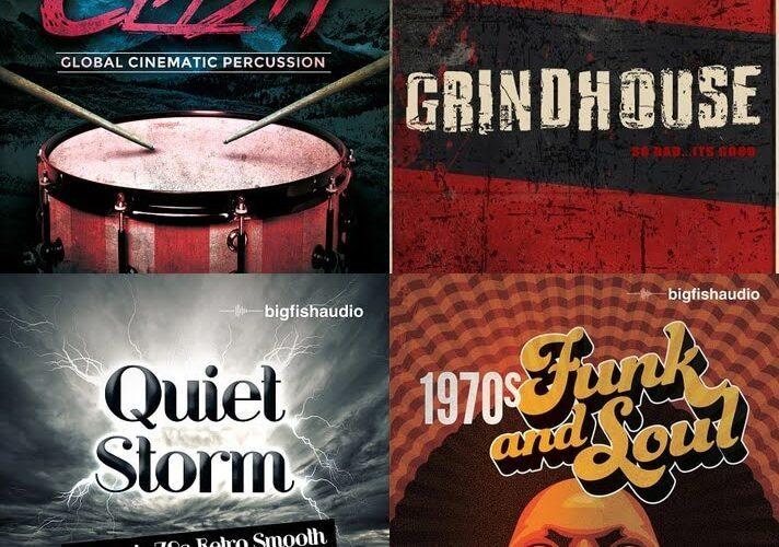 Big Fish Audio Clash, Grindhouse, Quiet Storm & 1970s Funk and Soul