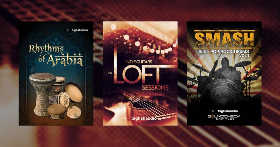 Big Fish Audio Indie Guitar, Smash & Rhythms of Arabia