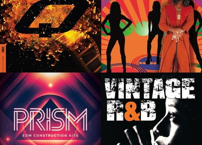 Big Fish Audio Q, Retro Cool, Prism and Vintage R&B