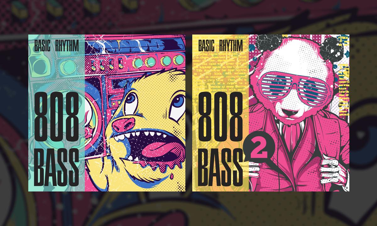 808 bass sample pack by pandanymus   sample gang.