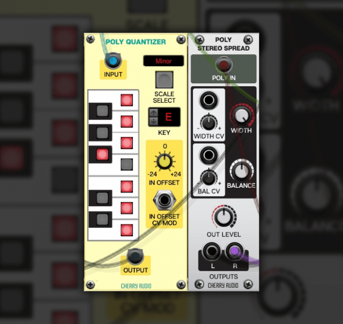 Cherry Audio Poly Stereo Spread and Poly Quantize