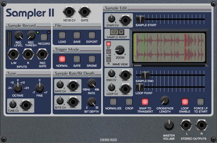 Cherry Audio Sampler II