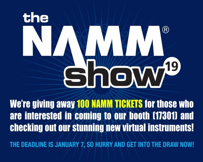 East West NAMM Giveaway