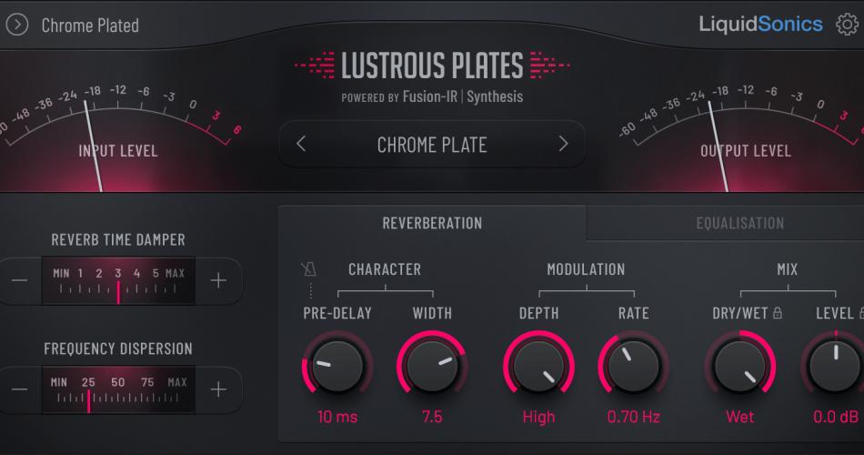 LiquidSonics Lustrous Plates