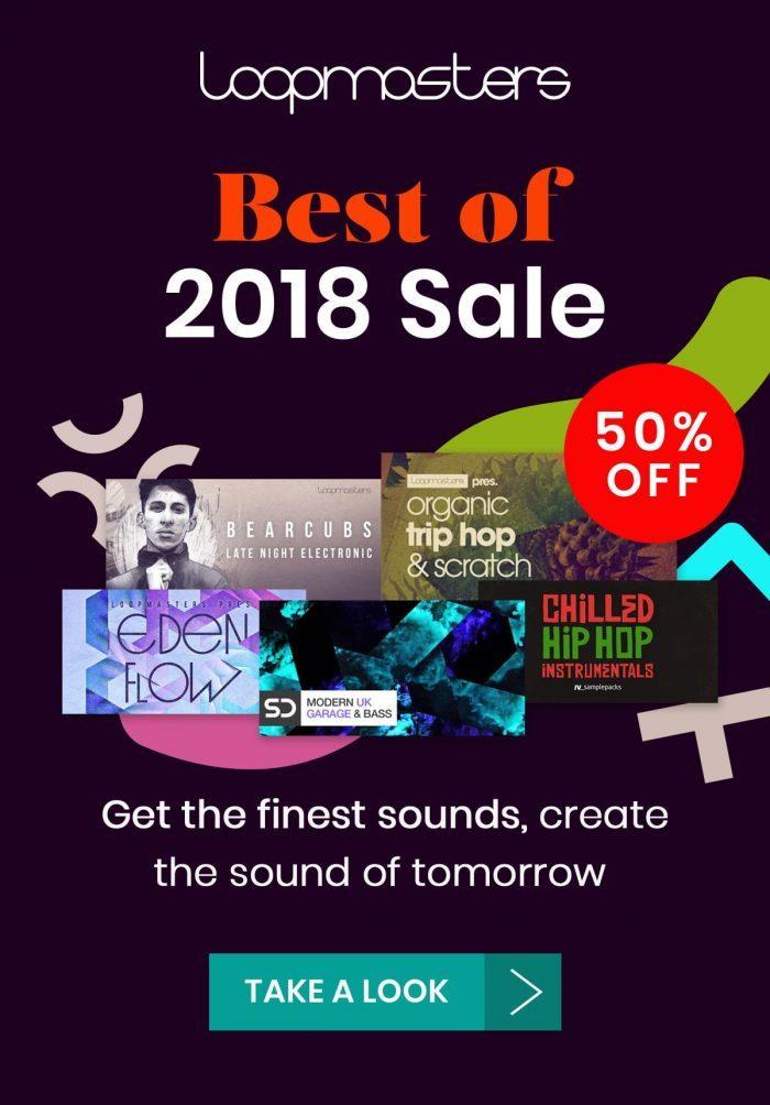 Loopmasters Best of 2018 Sale
