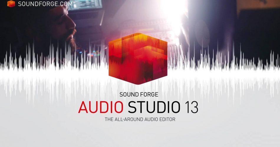 Magix Sound Forge Audio Studio 13 feat