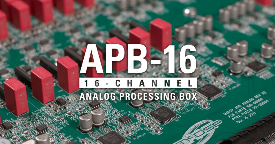 McDSP APB 16