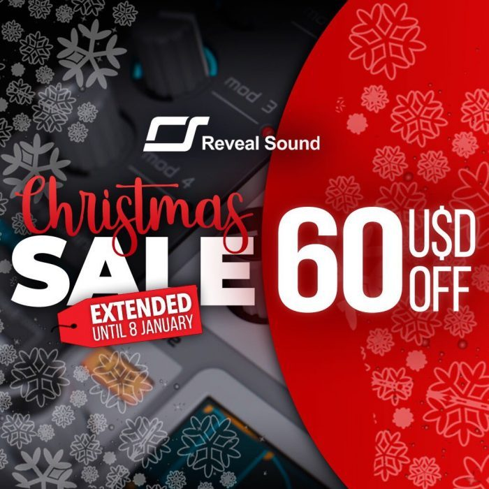 Reveal Sound Christmas Sale 2018 extended