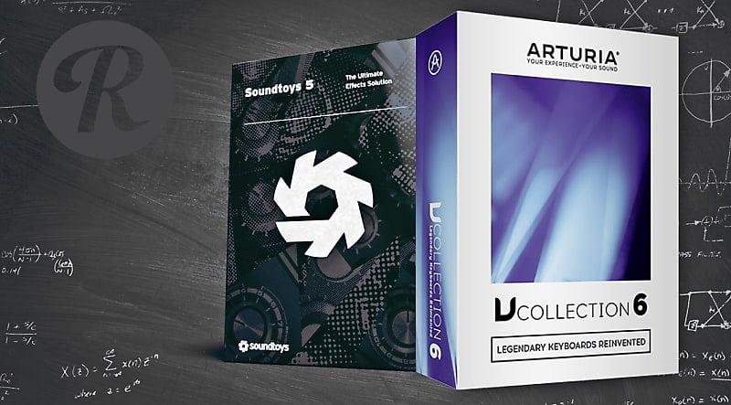 Reverb Arturia V Collection 6 Soundtoys 5
