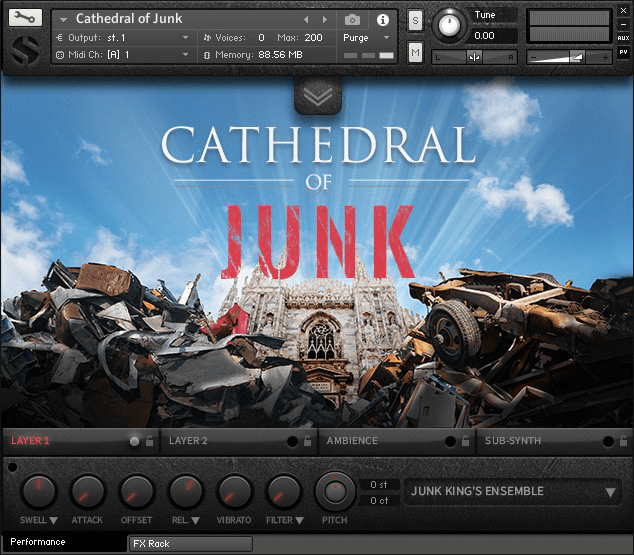 Soundiron Catherdral of Junk 2