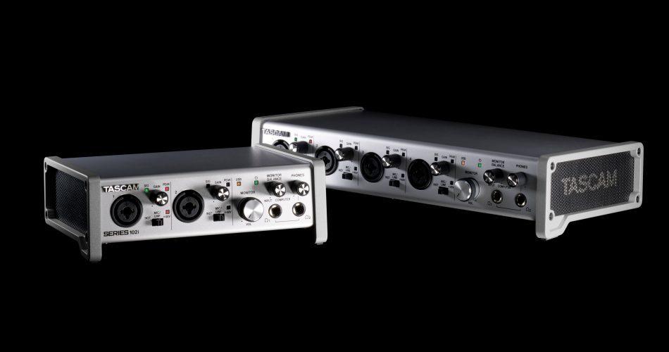 TASCAM SERIES USB audio interfaces
