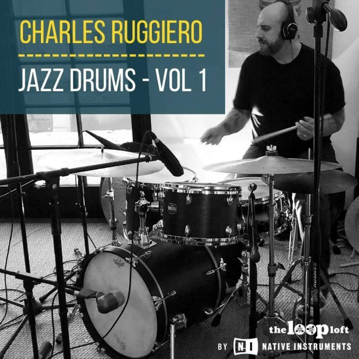 The Loop Loft Charles Ruggiero Jazz Drums Vol 1