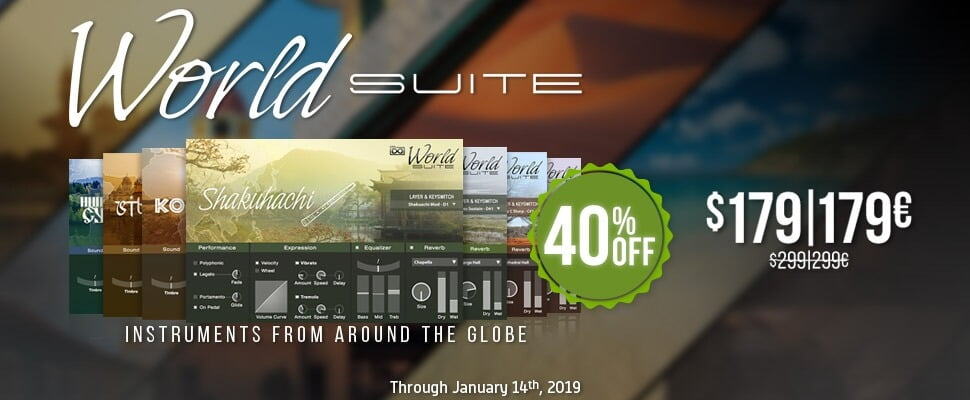 Save 40 Off Uvi World Suite Collection Of Traditional And