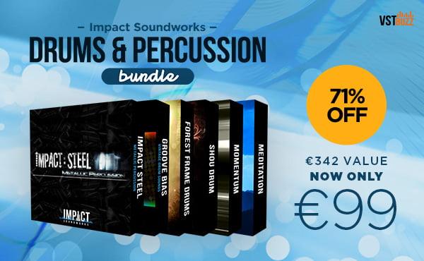 VST Buzz Impact Soundworks Drums & Percussion Bundle