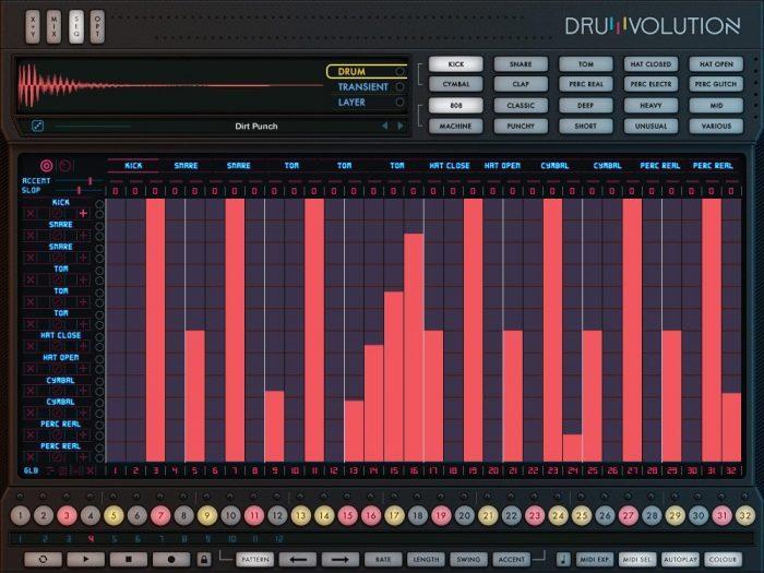 Wave Alchemy Drumvolution screen seq zoom