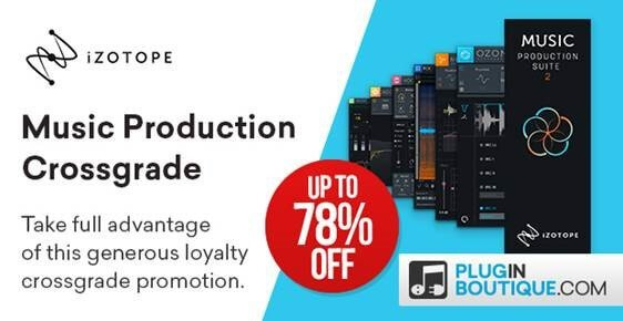iZotopeMusicProductionSuite up to 78