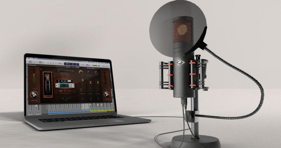 Antelope Audio Edge Go with laptop