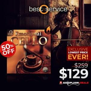 Audio Plugin Deals Best Service Emotional Cello