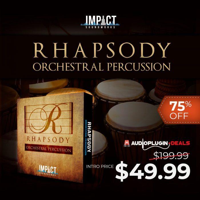 Audio Plugin Deals ISW Rhapsody 75 OFF