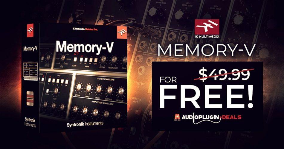 Audio Plugin Deals Memory V FREE