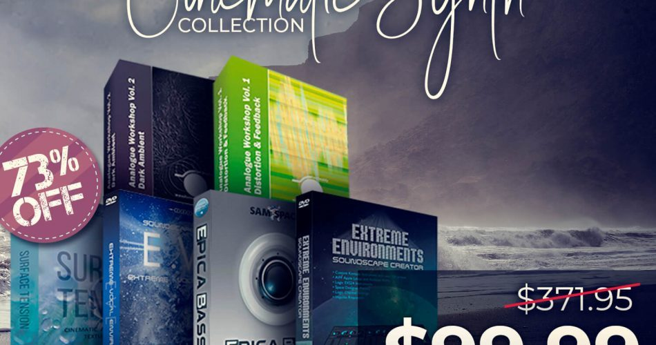 Audio Plugin Deals Zero G Cinematic Collection