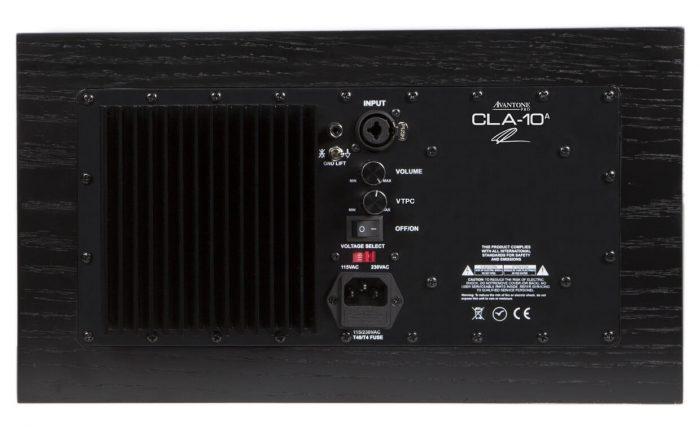 Avantone Pro CLA10A rear VTPC