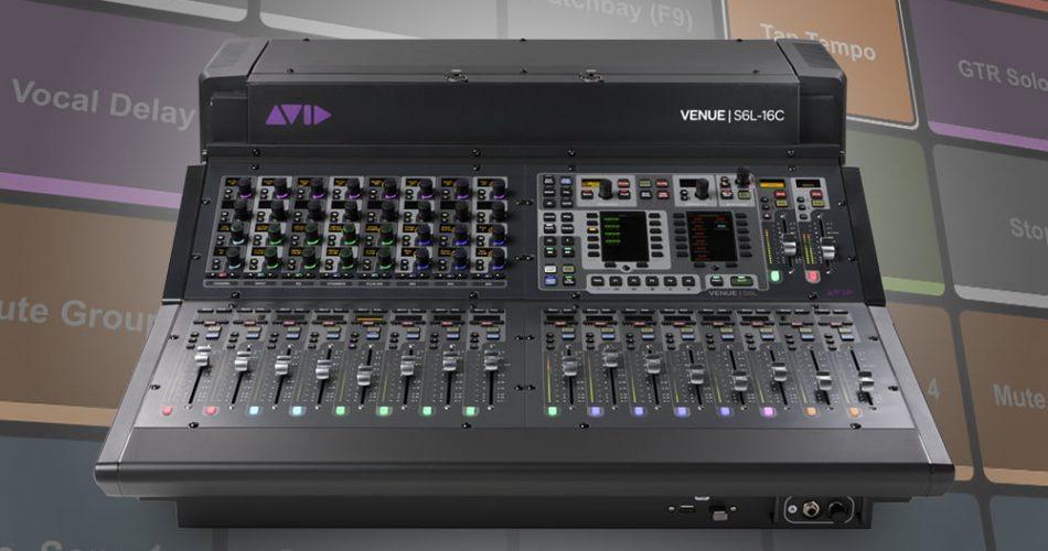 Avid VENUE S6L 16C