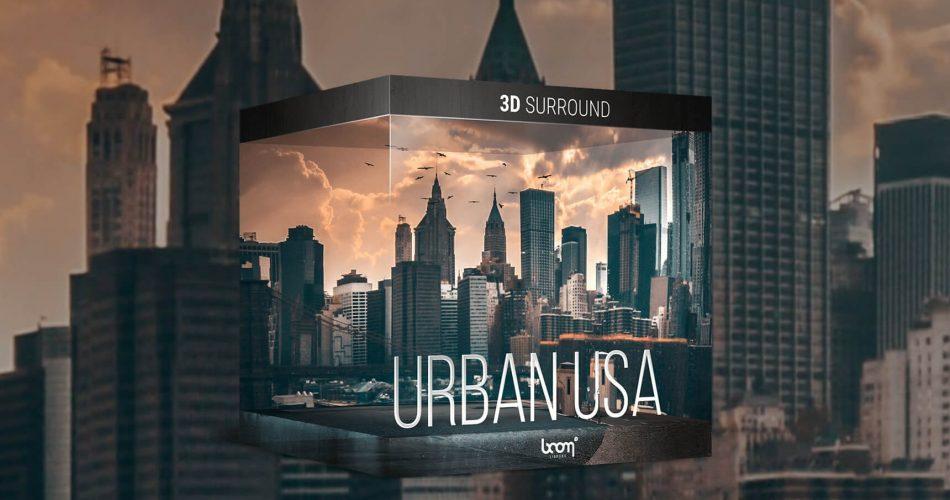BOOM Library Urban USA 3D Surround