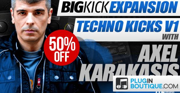 BigKick Expansion Techno Kicks V1 sale 50 OFF