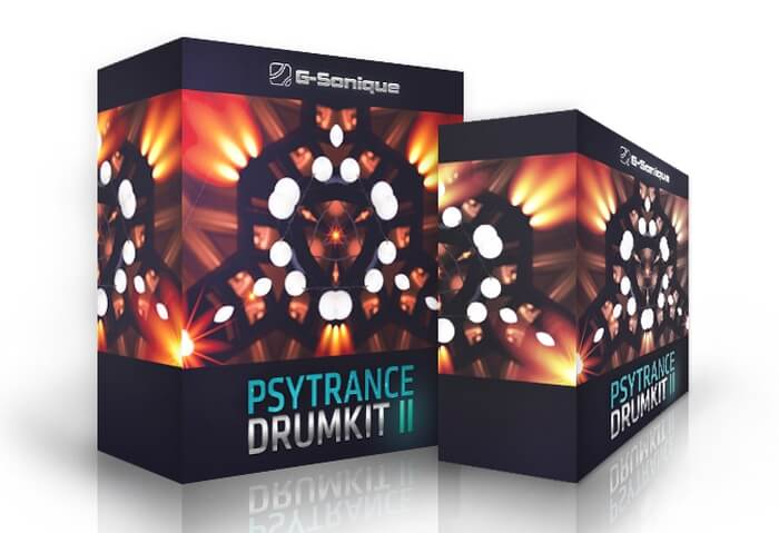 G Sonique Psytrance Drum Kit 2
