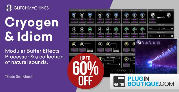Glitchmachines Cryogen Idiom Sale
