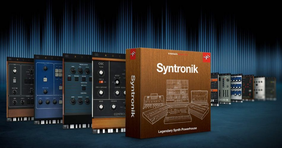 IK Multimedia Syntronik Krazy Deal