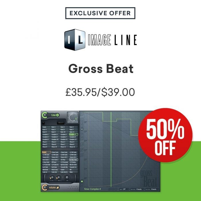 Image Line Gross Beat 50 OFF