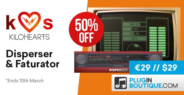 Kilohearts Faturator & Disperser 50 OFF