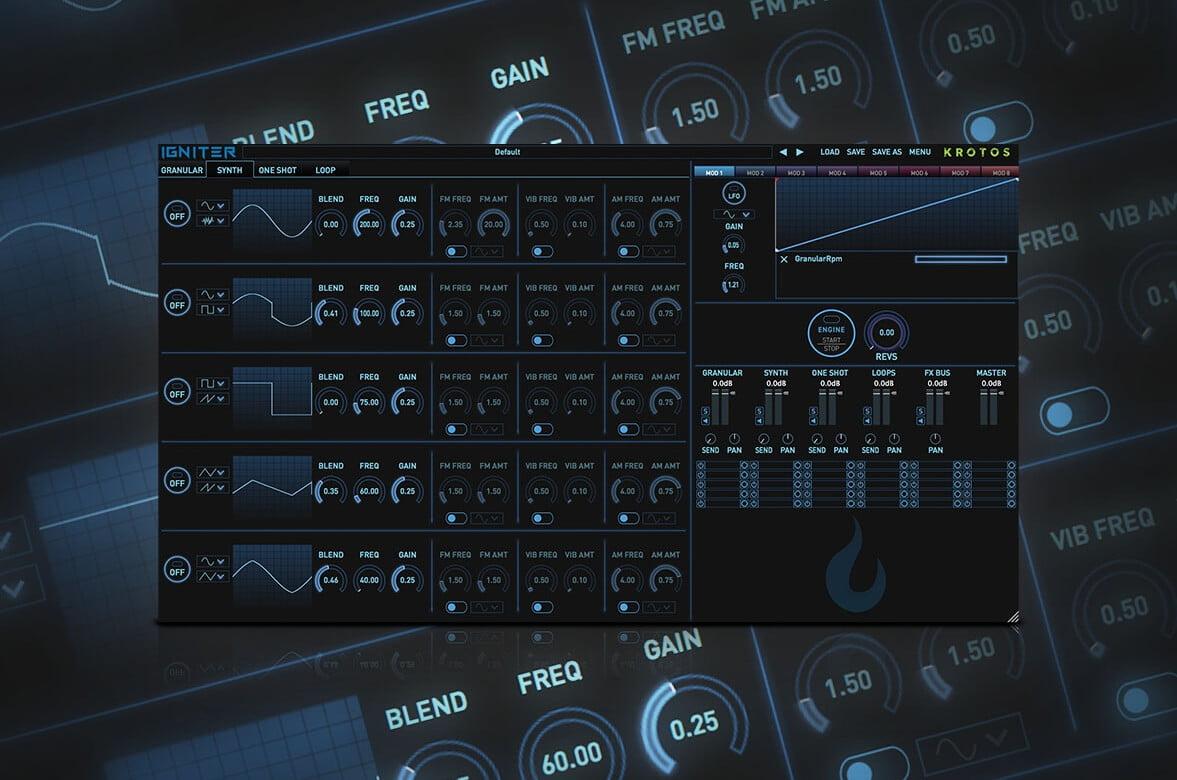 Krotos launches Igniter complex vehicle sound design instrument