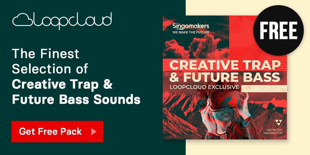 Loopcloud launches FREE Creative Trap & Future Bass by Singomakers