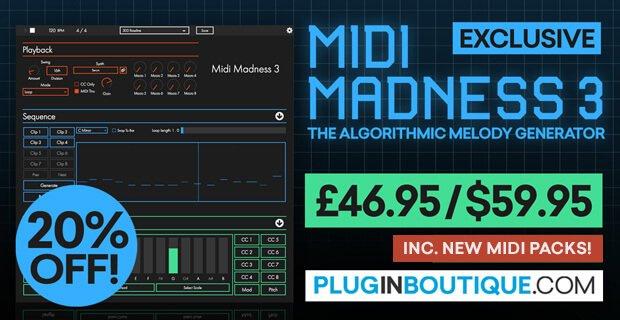 Midi Madness 3 sale 20 off PIB