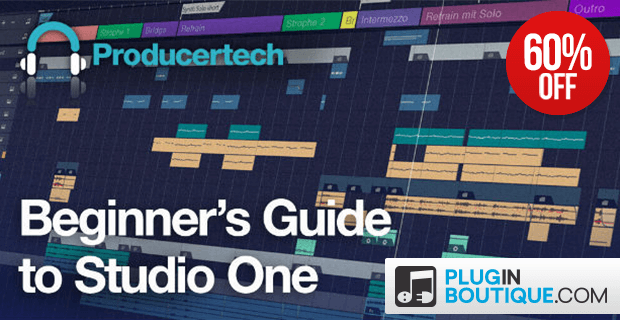 Producertech Beginner's Guide to Studio One 60 OFF
