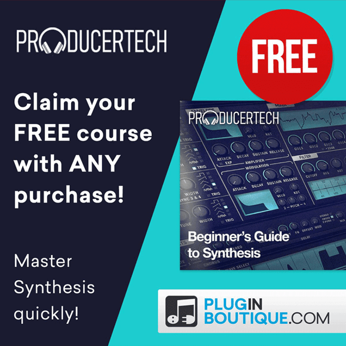 Producertech Beginner's Guide to Synthesis FREE