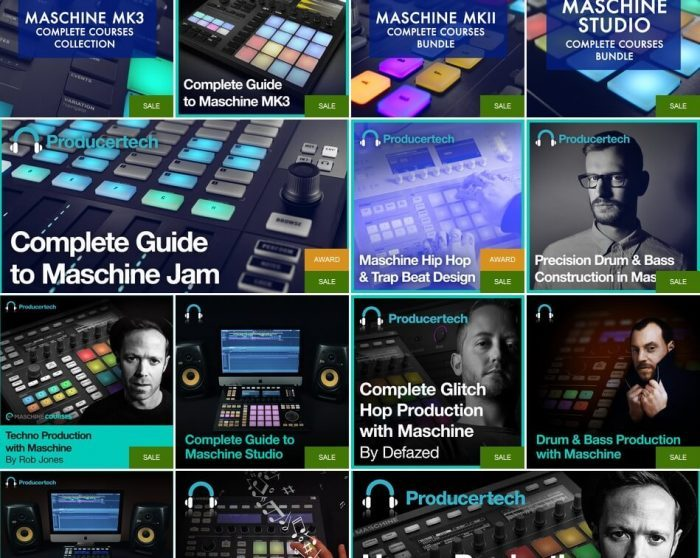 Save 40% on Producertech's Maschine courses this week only!
