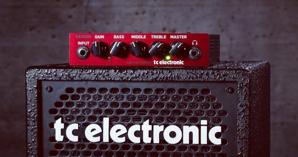 TC Electronic BAM200 portable bass head